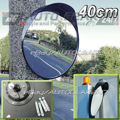 Driveway Garage Outdoor Gate Road Shop Security 40cm Blind Spot Convex Mirror • 22.95£