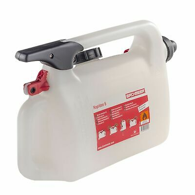 Pitking Products Pit/Paddock/Race/Motorsport 6 Litre Rapid Fill Petrol/Fuel Can • 38.48£