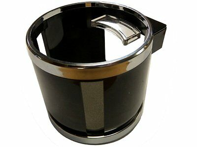 Chrome Clip On Cup Holder For Car / Van Air Vent. Holds Water Bottle, Can, Drink • 7.99£
