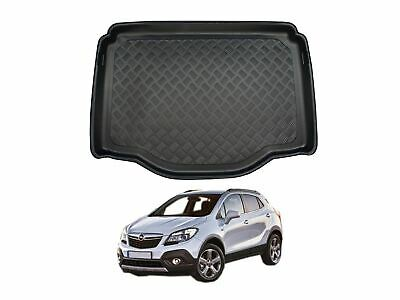 Tailored Fit Black Boot Liner Tray Car Floor Mat Protector For Vauxhall Mokka • 18.99£