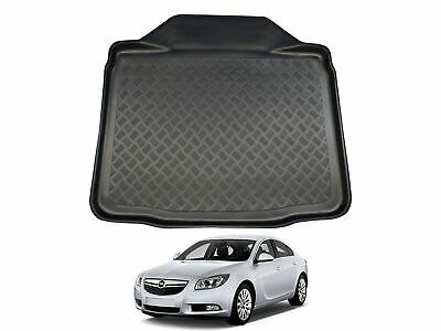 Tailored Fit Black Boot Liner Tray Car Rear Mat For Vauxhall Insignia (09-17) • 19.99£