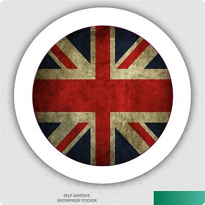Cool / Grunge Union Jack Car Tax Disc Holder • 2.49£