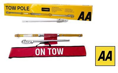 AA Towing Pole - 2 Tonnes 1.8M - Use Instead Of Car / Van Tow Rope - Inc Courier • 24.99£
