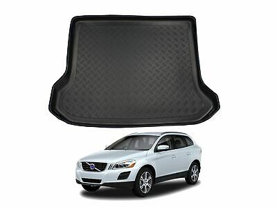 Tailored Black Boot Liner Tray Car Floor Mat Protector For Volvo XC60 (08-16) • 19.99£