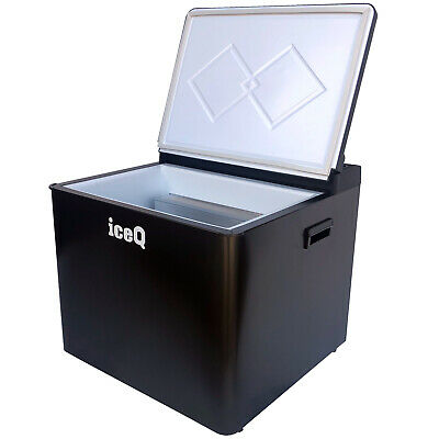 IceQ 42 Litre 3 Way Portable Camping Absorption Cool Box - DC 12 V/AC 230 V/Gas • 199.99£