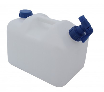 Sunncamp Camping 15ltr Litre Water Carrier With Moulded Handle & Tap AC36008 • 12.99£