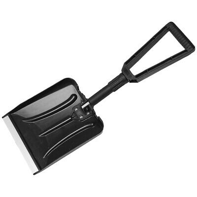 Mil-Tec ABS Foldable Snow Shovel Lightweight Foldable Gardening Winter Black • 14.95£