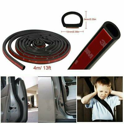 4M Car Door D-Shape Seal Strip Edge Protectors Weatherstrip Rubber Sealing Trims • 5.49£