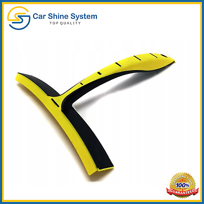 Silicone Vehicle Car Wash Valeting Flexi Squeegee Water Blade Dry Windows Glass • 5.99£