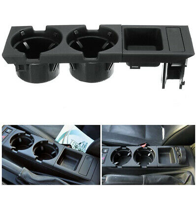 Center Console Drink Cup Holder Coin Storage Box For BMW E46 325 318 330 98-05 • 17.85£