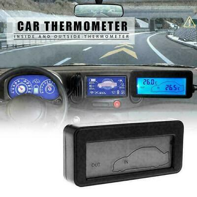 Car Thermometer Digital LCD Thermometer Auto Temperature Gauge Meter A2B8 H G3T4 • 5.69£
