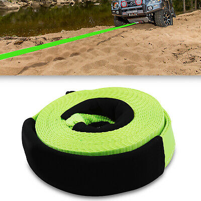 9m 9 METRE 8 TON 8000kg 4X4 SUV RECOVERY RESCUE SNATCH TOW WINCH ROPE PULL STRAP • 27.99£