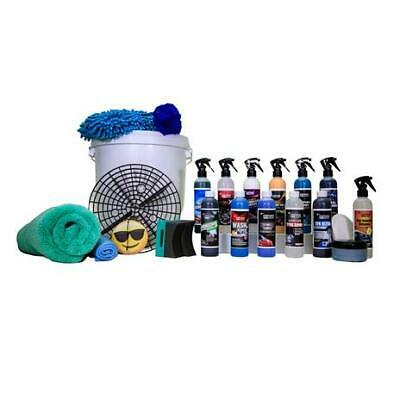 Jennychem 22 Piece Professional Interior Exterior Car Care Cleaning Valeting Kit • 63.50£