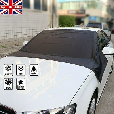 Car Windscreen Windshield Frost Cover Ice Snow Shield Front Window Protector UK • 7.88£