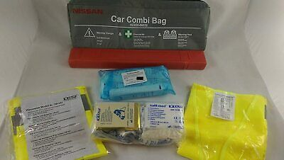 GENUINE Nissan Qashqai First Aid & Break Down Emergency Safety Boot Kit Pack • 20£