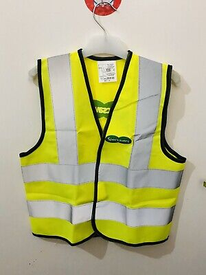 Specsavers Boy's/Girl's Hi Vis High Visibility Vest Waistcoat Safety Age 7-9 Yrs • 2.99£