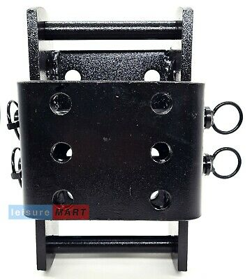 Adjustable Tow Bar Mounting Plate Drop Plate Height Adjuster  Land Rover 3500KG • 43.19£