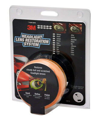 3M Headlight Restoration Kit - Polish Your Headlamps Or Lens With A Drill - UK • 19.87£