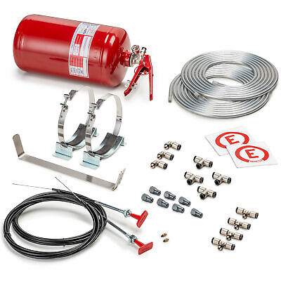 Sparco Mechanical 4.25 Ltr FIA Approved Fire Extinguisher System Race Rally • 245.22£