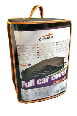 CAR COVER Classic XL Waterproof UV Protector Breathable Outdoor Estate BLACK • 29.50£