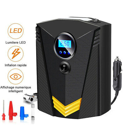 2020 NEW LCD Electric Automatic Car Tyre Inflator Pump Portable Air Compressor • 17.98£