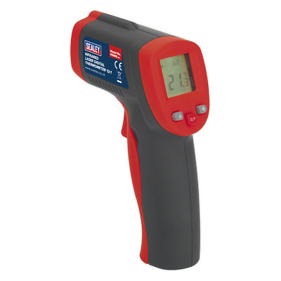 VS900 Sealey Infrared Laser Digital Thermometer 8:1 [Engine] • 41.72£