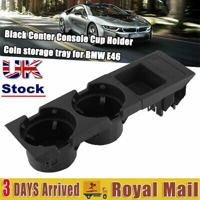 Center Console Cup Holder Storage Box Storage Car Fit For BMW 3 Series UK STOCK • 17.81£