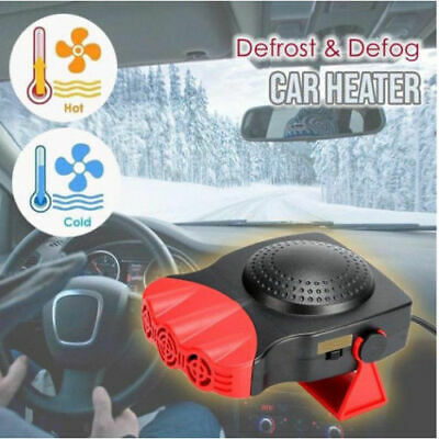 180 Degree Rotating Defrost And Defog Car Heater • 10.99£