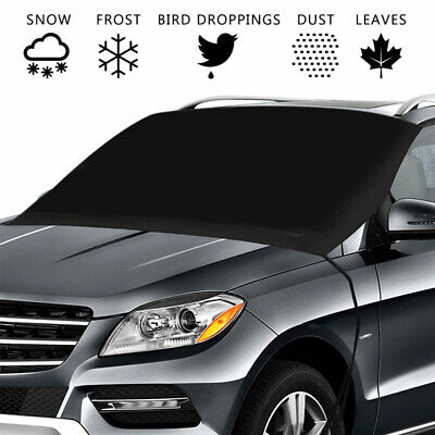 Car Windscreen Mirror Shield Cover Front Ice Snow UV Sun Dust Screen Protector • 7.69£