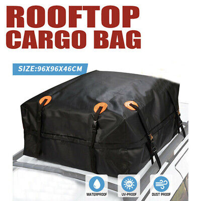 425L Universal Car Roof Top Bag Cargo Boxes Travel Luggage Storage Carrier U • 17.81£