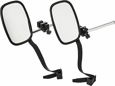 2 X Towing & Caravan Vehicle Extending Wing Mirror Extension Extending Mirrors • 29.99£