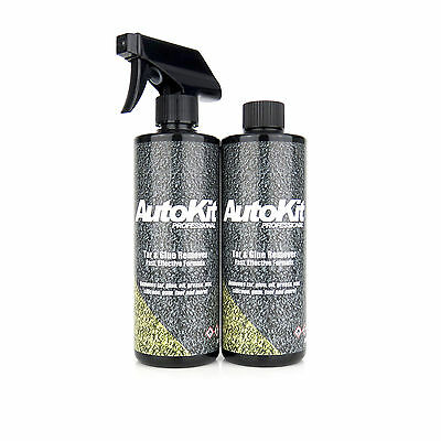 AutoKit Tar And Glue Remover Car Wax Paint Prep Car Cleaning Adhesive 1 Litre • 12.95£