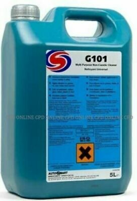 5L AutoSmart G101 All Purpose Car Care Cleaner Wash Valet FREE DELIVERY  • 23.50£