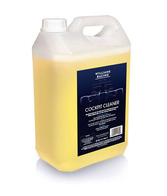 Cockpit And Plastic Cleaner And Shine 5 Litre By Williams Racing • 13.45£