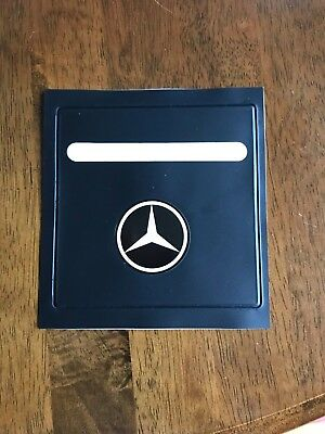 Fits Mercedes Tax Disc Parking Permit Holder B • 4.89£