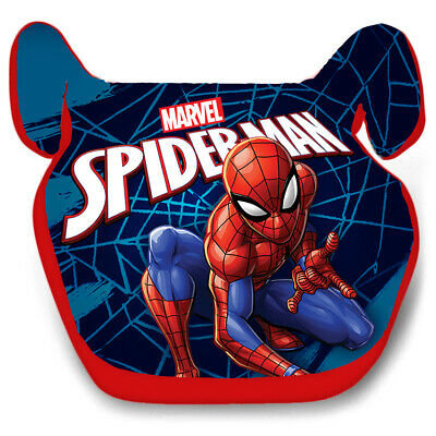 SPIDERMAN Boys Car Booster Seat Group 2/3 Age 3-12 Years 15-36kg • 24.99£