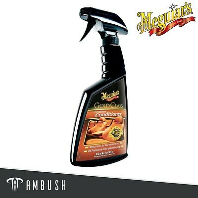 Meguiar's Gold Class Leather Conditioner Leather Protectant 473ml G18616EU • 11.25£