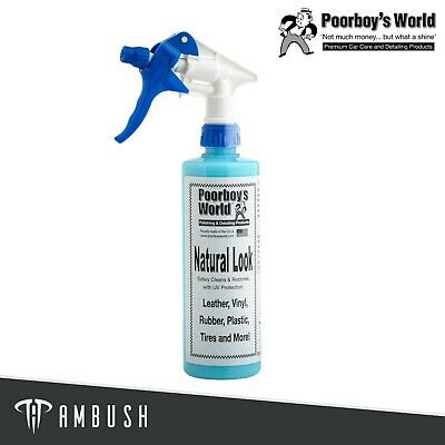 Poorboy's World Natural Look 473ml Interior Dressing & Cleaner • 10.75£