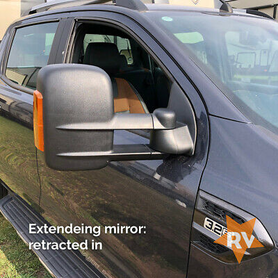 Ford Ranger Towing Mirrors  Wildtrak Towing Mirrors Extending Mirror Ford Ranger • 395£