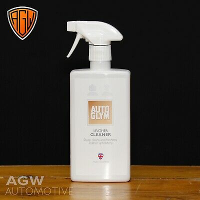 Autoglym Leather Cleaner 500ml Trigger Spray Cleans Freshens Upholstery • 6.95£