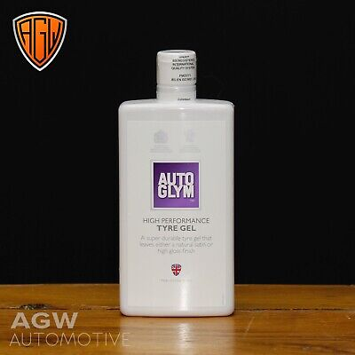 Autoglym High Performance Tyre Gel 500ml Silicone Valeting Cleaner • 9.95£