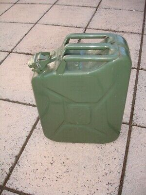 Steel Jerry Can 20 L / 20 Litres Petrol Diesel Fuel • 9.99£