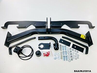 Tow Bar Assembly W/Electric Socket For Jeep Grand Cherokee 1999-2004 BAA/WJ/001A • 257.14£