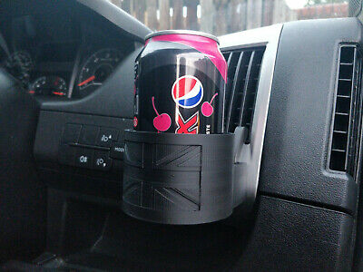 Peugeot Boxer, Citroen Relay, Fiat Ducato Clip-on Cup Holder Great Britain Flag  • 15.99£