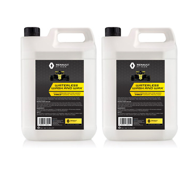 Ceramic Waterless Wash And Wax Renault F1 2 X 5L With Hydrolex Protection • 29.99£