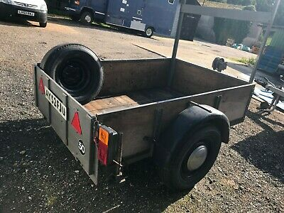 Car Trailer With Winch • 200£