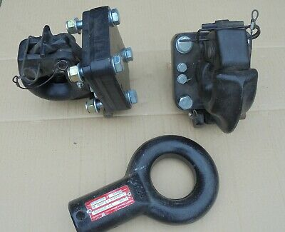 Job Lot Two Towing Pintle Dixon Bate NATO FV 7.5T Jaw And 75mm Eye Knott • 100£