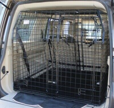 Barjo Double Dog Car Cage Guard Bespoke For A Landrover Discovery 4 • 465£