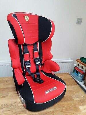 Used Ferrari Child Booster Car Seat 9kg To 18kg And 15kg To 36kg • 25£