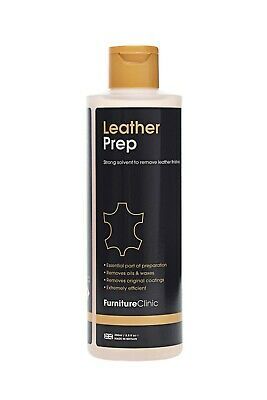 Leather Prep & Deglazer. To Clean & Strip Finish From Leather Before Restoring.  • 9.95£